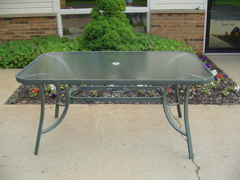 Patio Table Glass