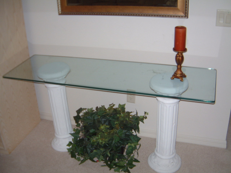 Thick Glass Table Top